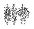 Bruce 532 Blackletter Regular Font OTHER CHARS