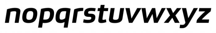 Bruum FY Bold Italic Font LOWERCASE