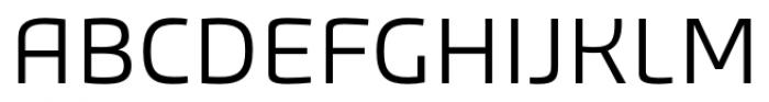 Bruum FY Light Font UPPERCASE