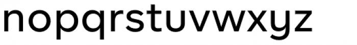 BR Firma Medium Font LOWERCASE