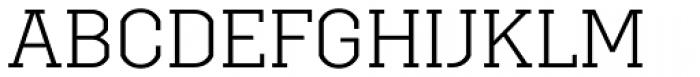 Brace Light Font UPPERCASE