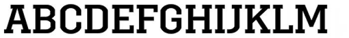 Brace Medium Font UPPERCASE