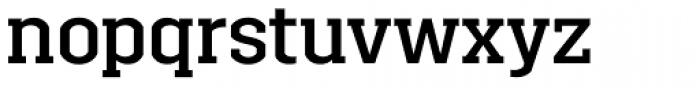 Brace Medium Font LOWERCASE