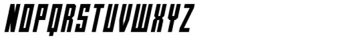 Bradford One Italic Font UPPERCASE