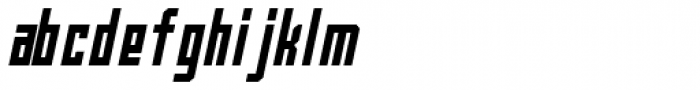Bradford One Italic Font LOWERCASE