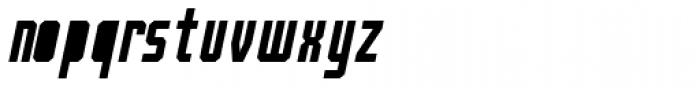Bradford Three Fill Italic Font LOWERCASE