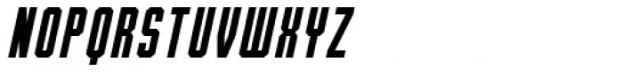 Bradford Three Italic Font UPPERCASE