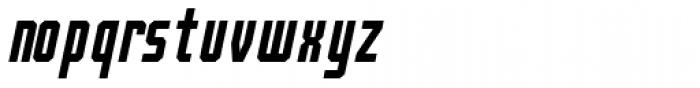 Bradford Three Italic Font LOWERCASE