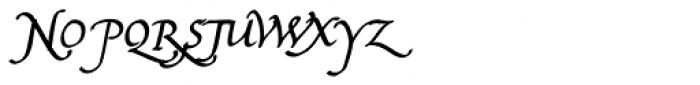 Bradley Chancery Bold Italic Font UPPERCASE