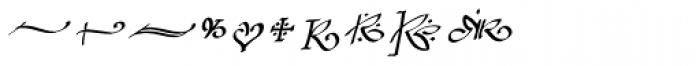 Bradley Chancery Italic Font OTHER CHARS