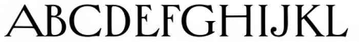 Bradley Chicopee Pro Font LOWERCASE