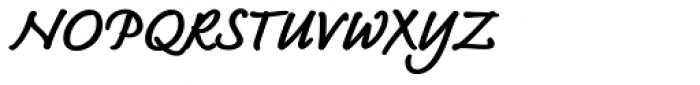 Bradley Type Pro Heavy Italic Font UPPERCASE