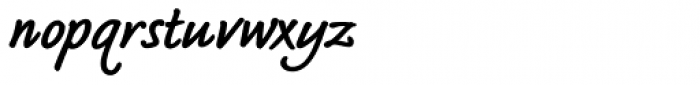 Bradley Type Pro Heavy Italic Font LOWERCASE