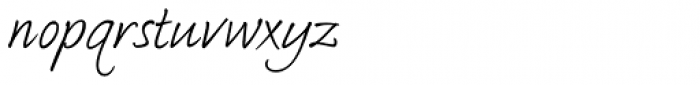 Bradley Type Pro Italic Font LOWERCASE