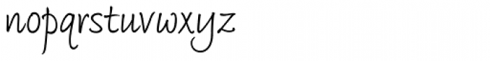 Bradley Type Pro Regular Font LOWERCASE