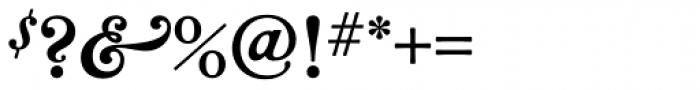 Bradley Wayside Pro Font OTHER CHARS