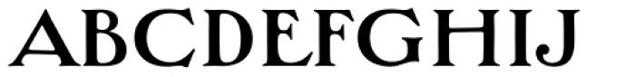 Bradley Wayside Std Font LOWERCASE