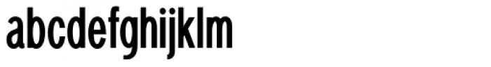 Bradwell Bold Font LOWERCASE