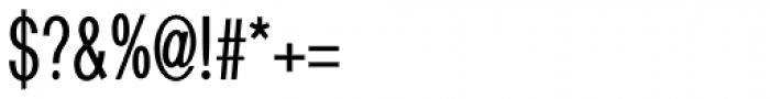 Bradwell Symbols Font OTHER CHARS