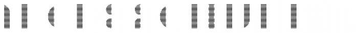 Braga Horizontal Font LOWERCASE