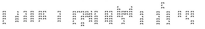 Braga Leaves Bottom Font UPPERCASE