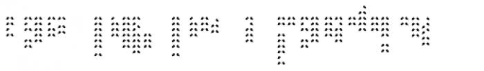 Braga Leaves Bottom Font LOWERCASE