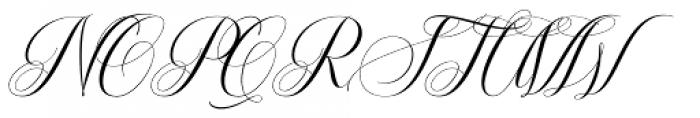 Brainly Script Regular Font UPPERCASE