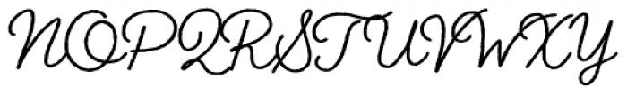 Braisetto Black Font UPPERCASE