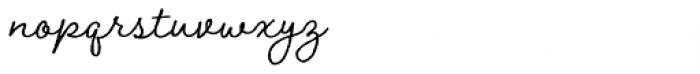 Braisetto Regular Font LOWERCASE