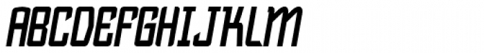Bramare Bold Italic Font UPPERCASE