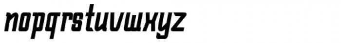 Bramare Bold Italic Font LOWERCASE