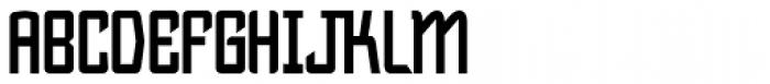 Bramare Bold Font UPPERCASE