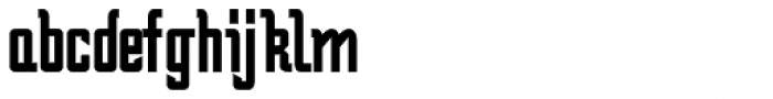 Bramare Bold Font LOWERCASE