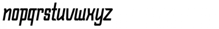 Bramare Italic Font LOWERCASE