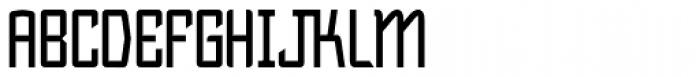 Bramare Font UPPERCASE