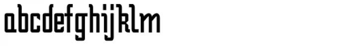 Bramare Font LOWERCASE