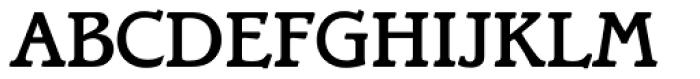 Bramley Medium Font UPPERCASE