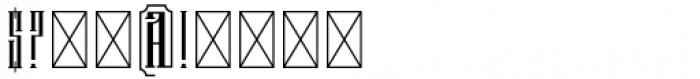 Branch Regular Font OTHER CHARS