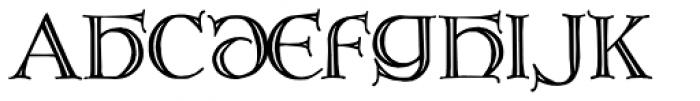 Brandegoris Font LOWERCASE