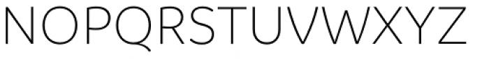 Branding Light Font UPPERCASE