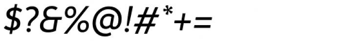 Branding Medium Italic Font OTHER CHARS