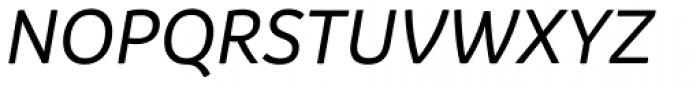 Branding Medium Italic Font UPPERCASE