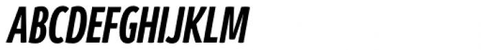 Branding SF Cmp Bold Italic Font UPPERCASE
