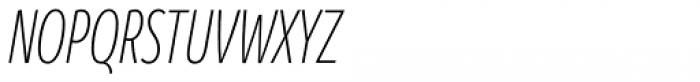 Branding SF Cmp Light Italic Font UPPERCASE