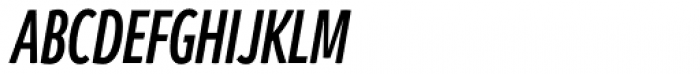 Branding SF Cmp Semi Bold Italic Font UPPERCASE