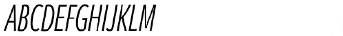 Branding SF Cmp Semi Light Italic Font UPPERCASE