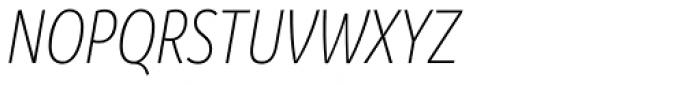 Branding SF Cnd Light Italic Font UPPERCASE