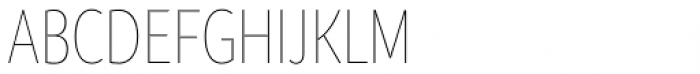 Branding SF Cnd Thin Font UPPERCASE
