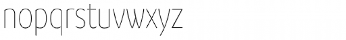 Branding SF Cnd Thin Font LOWERCASE