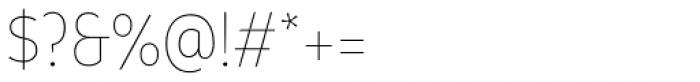 Branding SF Narrow Thin Font OTHER CHARS